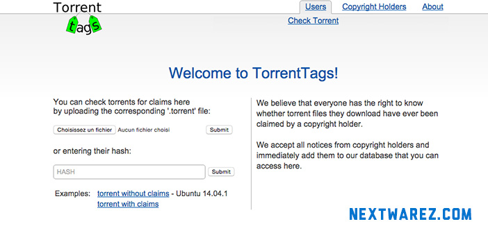 TorrentTags blocklists torrent risqués