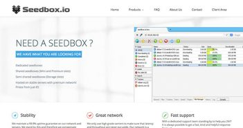 Test de Seedbox.io : La seedbox ultra-rapide