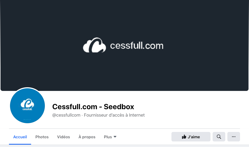 Cessfull Facebook et Twitter